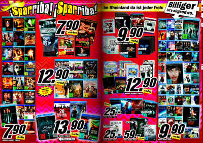 media markt k ln neuer prospekt mit blu ray dvd. Black Bedroom Furniture Sets. Home Design Ideas