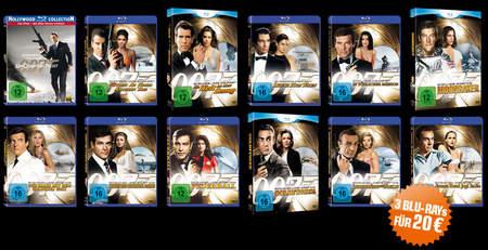 Alle James Bond Filme
