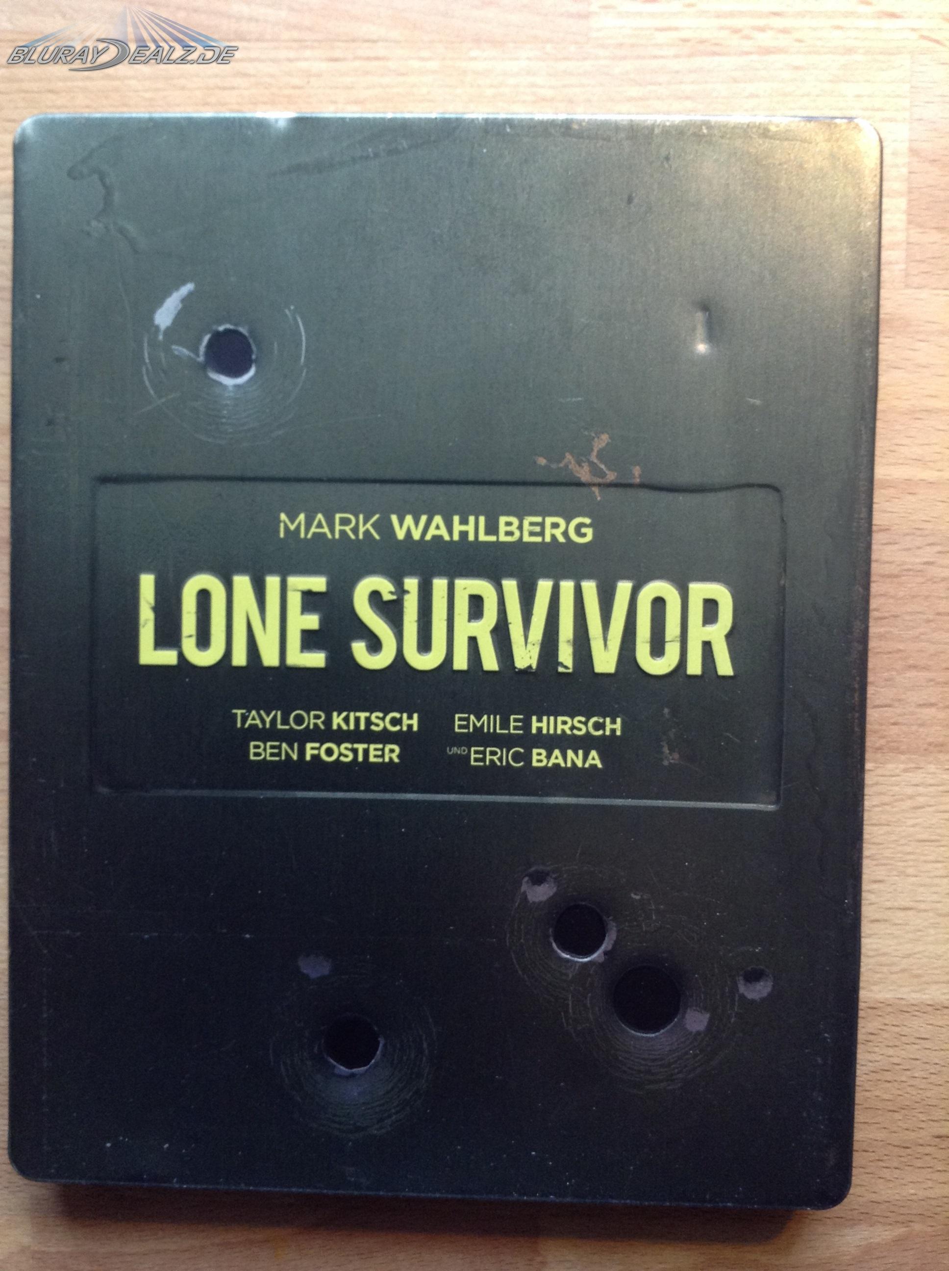 Review] Lone Survivor Steelbook (Media Markt/ Saturn
