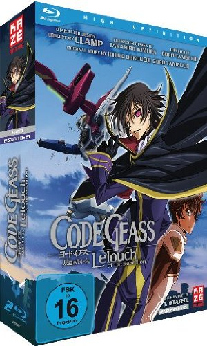 code geass lelouch of the rebellion staffel 1 blu ray. Black Bedroom Furniture Sets. Home Design Ideas