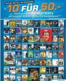 [Lokal] Saturn Köln Hansaring: 10 Blu-rays für 50€