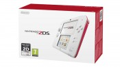 Amazon.co.uk: Nintendo Handheld Console 2DS Rot/Weiß für 73,21€ inkl. VSK