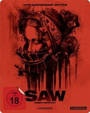 [Vorbestellung] Saturn.de: SAW – 10th Anniversary – Steelbook [Blu-ray] für 13,99€ + VSK