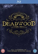 Amazon.co.uk: Deadwood – The Complete Collection [Blu-ray] für 15,35€ inkl. VSK