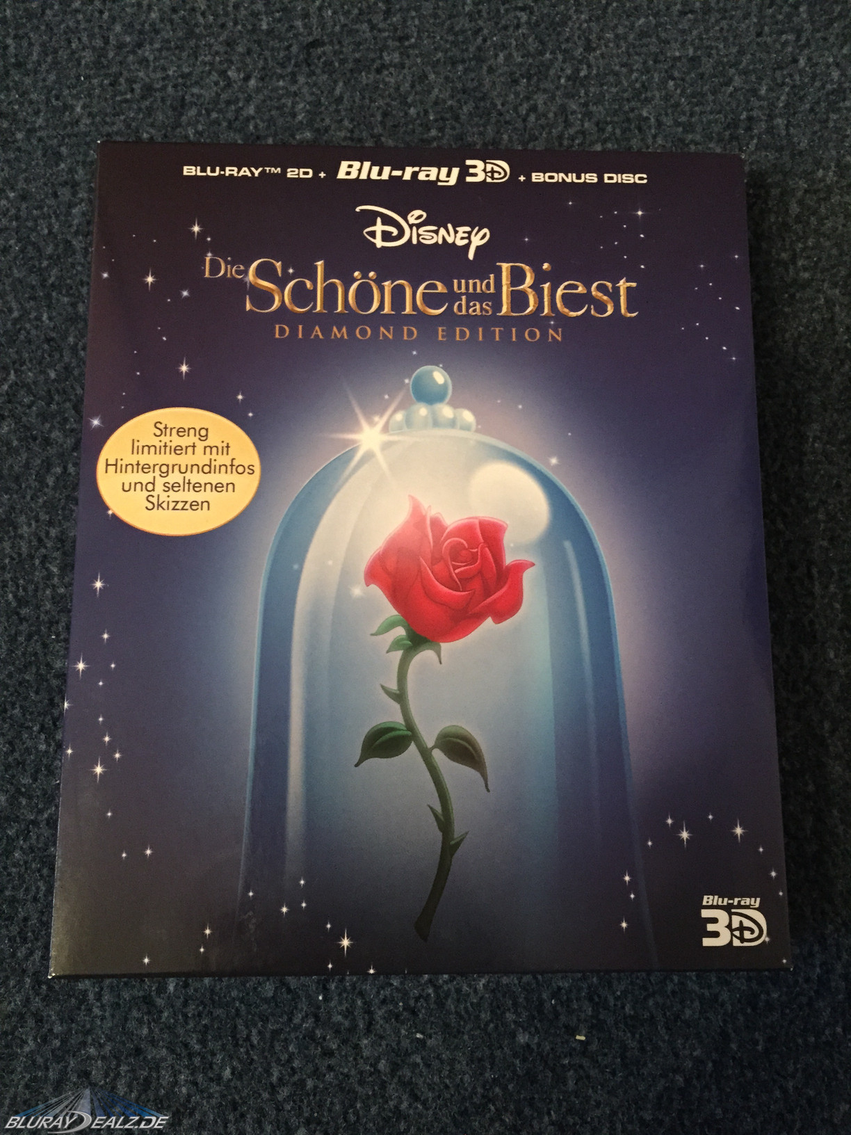 Review Die Schöne Und Das Biest Diamond Edition 3d 3 Disc Set