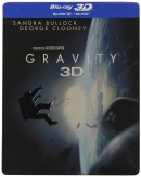Amazon.it: Gravity Steelbook [3D Blu-ray + Blu-ray] [Limited Edition] für 9,12€ + VSK