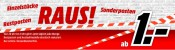 MediaMarkt: RAUS! Sonderposten, Restposten am 23.04.15