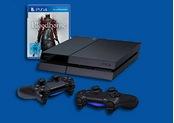 Amazon.de: PS4 Konsole schwarz + 2 Controller + Bloodborne für 399€ inkl. VSK (17.04 – 19.04)