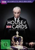 Saturn.de: House of Cards (1990) – Die komplette erste + zweite Miniserie [DVD] für je 6,99€ inkl. VSK