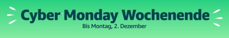 Amazon.de: Cyber Monday Wochenende – Tagesangebote 02.12.19 u.a. Star Trek und Stargate reduziert