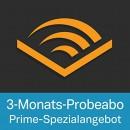 Audible.de: 3 Monate kostenlos + 1 Gratis-Hörbuch (Nur für Prime Mitglieder)