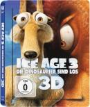 Saturn.de: Ice Age 3: Die Dinosaurier sind los [3D Blu-ray Lenticular Steelbook] fuer 15,99€ + VSK
