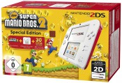 Amazon.de WHD: Nintendo 2DS – Konsole (White + Red) + New Super Mario Bros. 2 für 87,45€ inkl. VSK