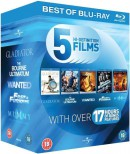 Zavvi.com: 5 Hi-Definition Films / Action Starter Pack [Blu-ray] für 8,96€ inkl. VSK
