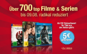 Amazon.de: Top-Filme & Serien reduziert – für 29€ kaufen = 5€ Rabatt (03.08. – 09.08.15)