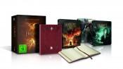 Amazon.de: Die Hobbit Trilogie (3 Steelbooks + Bilbo's Journal)(3D+2D) [Blu-ray] [Limited Edition] für 60,00€ inkl. VSK
