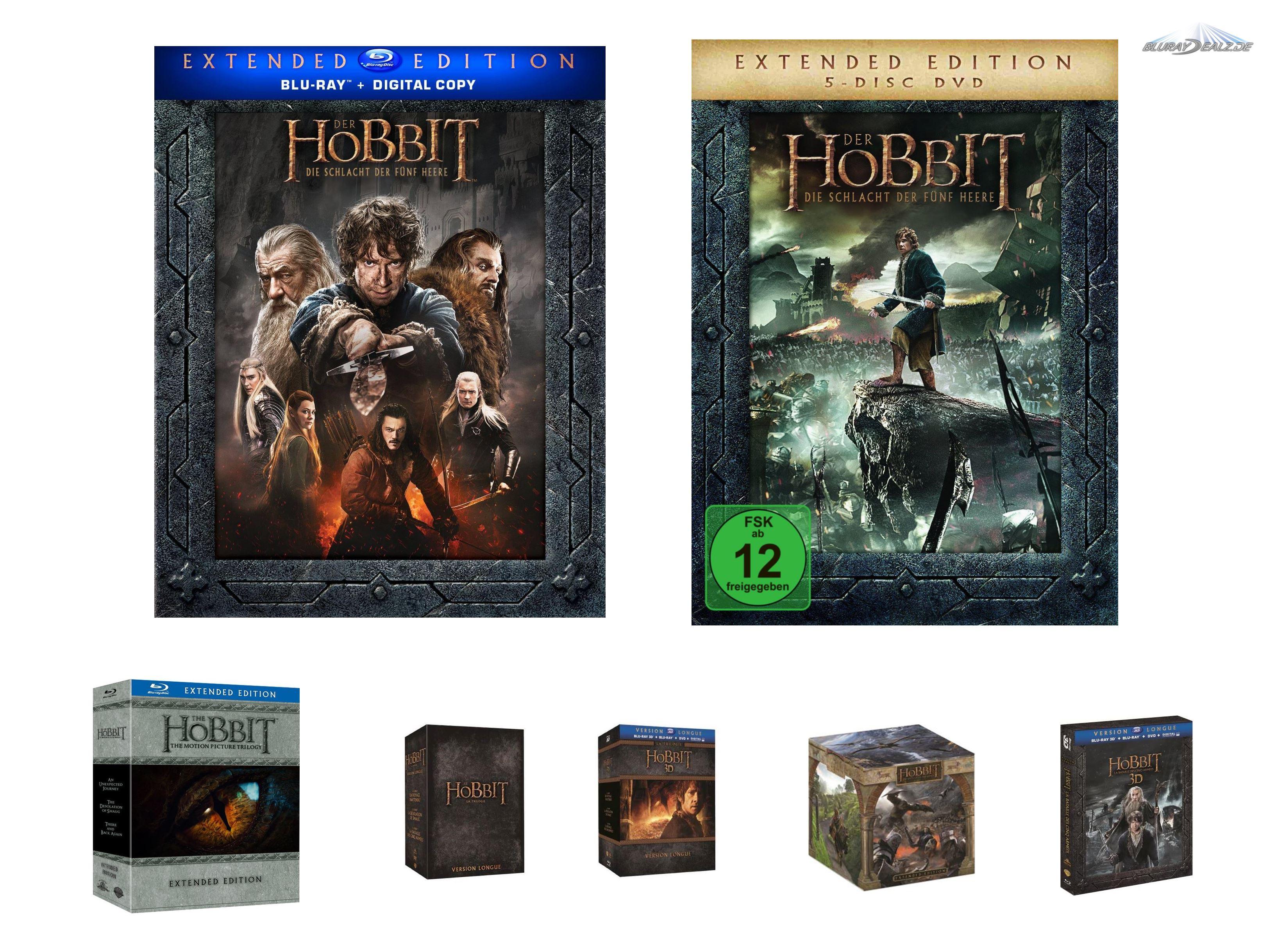 Der Hobbit 3 Die Schlacht Der Fünf Heere Extendedsammler