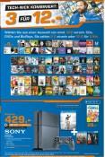 [Lokal] Saturn Wesel: 3 für 12 – CDs, DVDs und Blu-rays