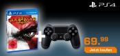 Saturn.de: Late Night Shopping am 02.09.15 – God of War 3 Remastered + PS4 Wireless DualShock 4 Controller für 69,99€ inkl. VSK