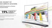 Samsung.com & Amazon.de: 19% Einheitsrabatt beim Kauf bestimmter SUHD TV-, UHD TV- oder Curved Soundbar-Aktionsmodelle (09.09. – 12.09.15)