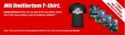 MediaMarkt.de: Jurassic World auf Blu-ray/DVD kaufen und limitiertes T-Shirt dazu erhalten
