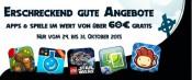 Amazon.de: Gratis-Apps zu Halloween im Wert von über 60 EUR