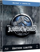 Amazon.fr: Jurassic World Steelbook [Blu-ray] für 17,84€ + VSK