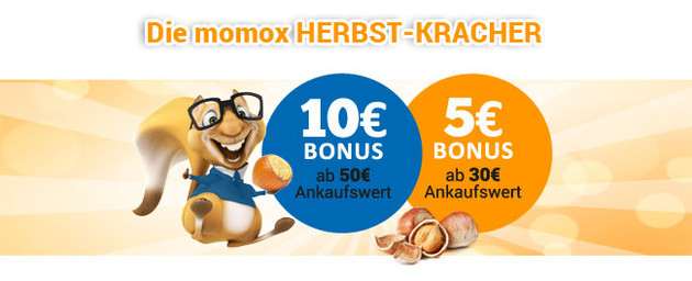 2192435db2fb9 Momox.de  Herbst-Kracher – Jetzt 10 Euro Bonus sichern! › Bluray-Dealz.de
