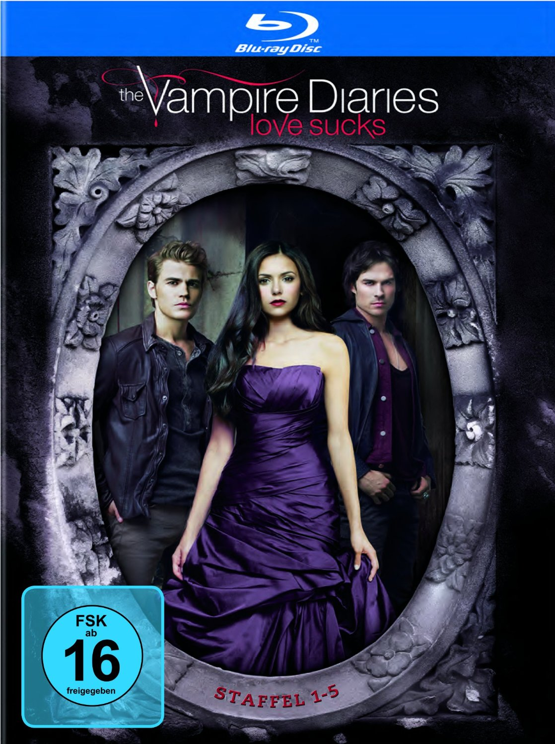 vampire diaries staffel 1 4 f r je 11 94 staffel 5 f r 13 94 vsk bluray. Black Bedroom Furniture Sets. Home Design Ideas