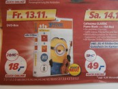 Real.de: Real Deal am 13.11.15 – Minions Box-Set [3 DVDs] für 18€