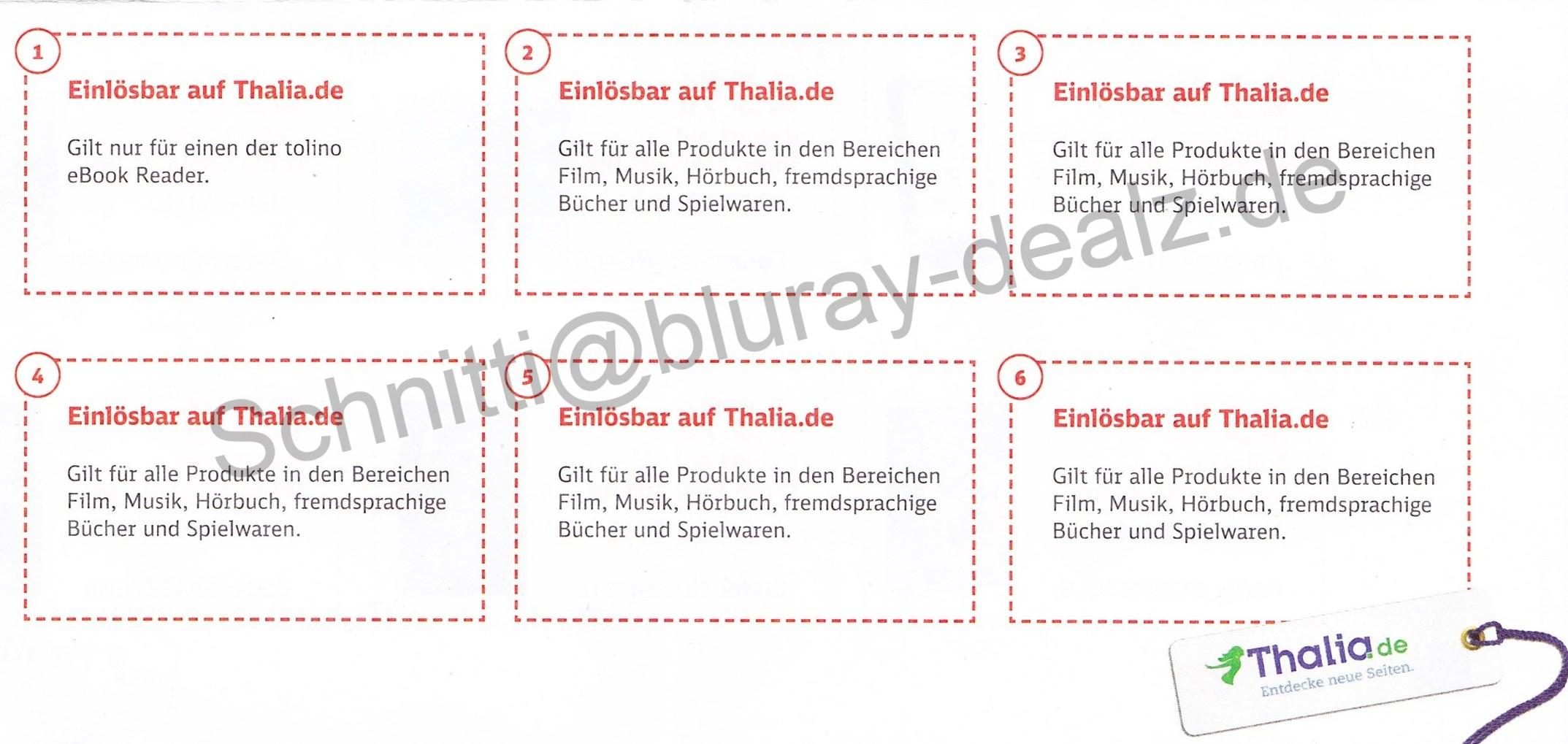 news sechs 25 thalia gutscheine beim kauf einer probe bahncard 25 bluray. Black Bedroom Furniture Sets. Home Design Ideas