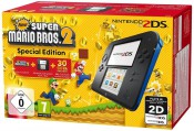 real.de: Nintendo 2DS – Konsole (schwarz) inkl. New Super Mario Bros. 2 (vorinstalliert) für 79€ inkl. VSK