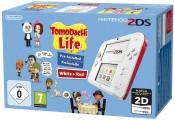 Amazon.de: Nintendo 2DS – Konsole (weiß + rot) inkl. Tomodachi Life (vorinstalliert) für 88€ inkl. VSK