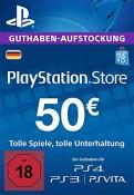 Amazon.de: PlayStation Store Guthaben 50€ für 45€ PSN Code – deutsches Konto