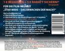 Müller: 2 – 4€ gespart auf Star Wars – Das Erwachen der Macht