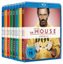 Media-Dealer.de: Live Shopping – Dr. House 1-8 Collection [Blu-ray] für 60,60€ + VSK
