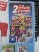 Real.de: 2 Disney DVD Klassiker zum Preis von 1- für 9,99€