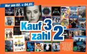 Expert: Große 3 für 2 Aktion auf allen CDs, DVDs, Blu-rays und Spielen