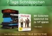 Amazon.de: 7 Tage Schnäppchen – Filme, Serien & Games mit 5€ / 10€ Rabatt (25.01. – 31.01.16)