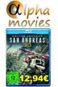 Alphamovies.de: Neue Angebote 22.01.16 u.a. San Andreas oder Mad Max: Fury Road [3D Blu-ray] für je 12,94€ + VSK