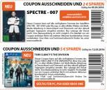 Müller: SPECTRE – 007 (DVD oder Blu-ray) – 2€ Rabatt Coupon + 5€ für TOM CLANCY Game