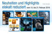 Amazon.de: Filmangebote eiskalt reduziert & 10 Blu-rays für 50 EUR (bis 21.02.16)
