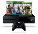 Amazon.de: Tagesangebote u.a. mit Xbox One 1 TB + Rise of Tomb Raider + Far Cry Primal Special Edition für 339€ inkl. VSK