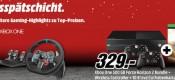 MediaMarkt.de: Tiefpreisschicht vom 13.02. – 15.02.16 z.B. Xbox One 500GB + Forza Horizon 2 inkl. 2. Controller + 10€ Guthabenkarte für 329€ inkl. VSK