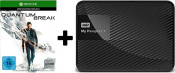 Saturn.de: WD My Passport X Gaming-Speicher für X-Box One + Quantum Break – Xbox One für 119 € + VSK