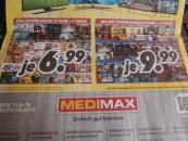 [Lokal] MediMax: Blu-rays für 9,99€ & DVD für 6,99€