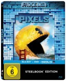 Amazon.de: Pixels (2-Disc-Steelbook) [Blu-ray] für 11,90€ + VSK