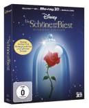 Amazon.de: Die Schöne und das Biest (Digibook ) [Diamond Edition] (+2 Blu-rays) [Blu-ray 3D] für 19,05€ + VSK