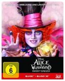 Amazon.de: Alice im Wunderland: Hinter den Spiegeln (3D+2D) Steelbook [3D Blu-ray] [Limited Edition] für 16,99€ + VSK
