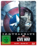 Amazon.de: The First Avenger – Civil War 3D Steelbook [Blu-ray] für 18,46€ + VSK